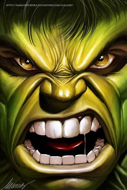 Hulk Drawing Incredible Angry Marvel Shadowness Reference