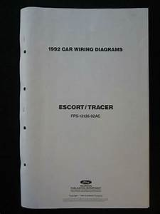 1992 Ford Escort Mercury Tracer Electrical Wiring Diagram