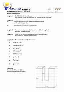 Volumen Eines Kreises Berechnen : aufgaben volumen quader w erfel matheaufgaben klasse 6 ~ Themetempest.com Abrechnung