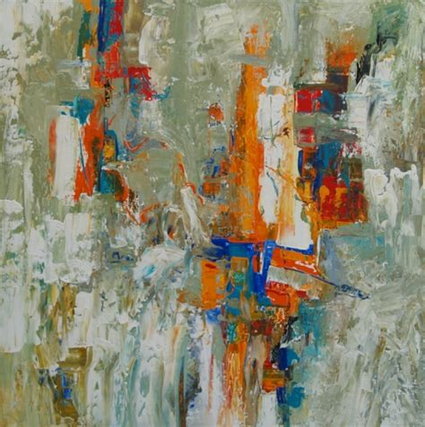 time capsule by artist nancy eckels abstract contemporary modern painting original