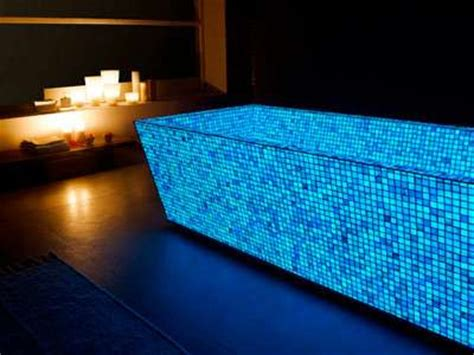 Glow In The Pool Tile by Luminescent Mosaic Tiles To Glow In The Gloom Mozaico
