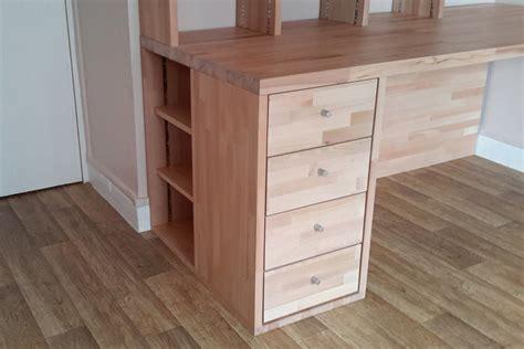 bureau d angle sur mesure fabrication bibliothèque et bureau d 39 angle sur mesure en bois