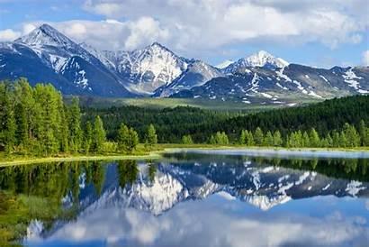 Altai Mountains Range Mongolia Mountain Olgii Bayan
