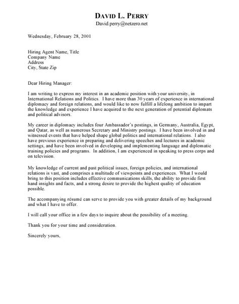 Should You Write A Cover Letter  Letter Of Recommendation