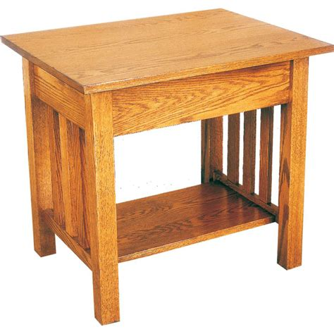 Amish End Tables Amish Furniture Mission End Table Amish Crafted Furniture