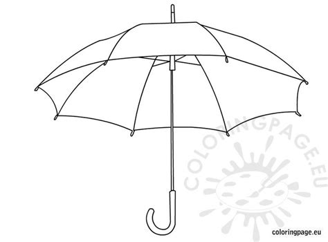 umbrella coloring pages  kids coloring page