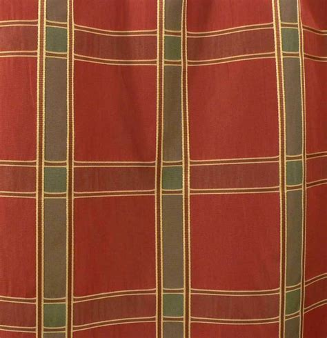 plaid drapery fabric drapery upholstery fabric woven faux silk plaid taffeta