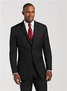 Black Men Wedding Suits