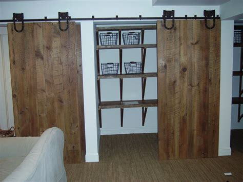 Hung Closet Doors by Closet Doors In Bedroom Hung With Exterior