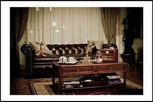 decoration salon anglais With decoration bureau style anglais