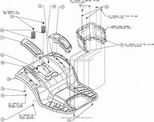 Mtd 131qa1zt099  247 204390   T8600   2016  Parts Diagram
