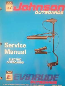1994 Johnson Evinrude Electric Outboard Trolling Motor