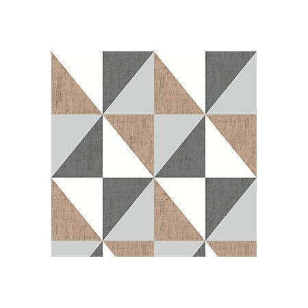 view mosaic copper navy pewter geometric metallic