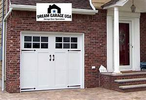 Timeless carriage style garage doors enhancing high for Carriage style garage doors kit