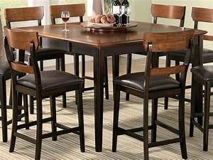 Kitchen Captivating Counter Height Tables Ideas Rustic