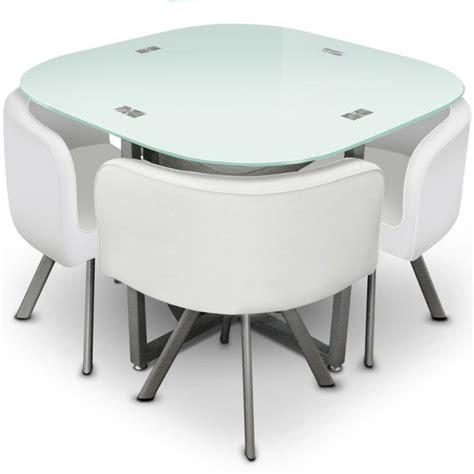 table de cuisine petit espace table à manger design et compacte mosaic 90 meuble et