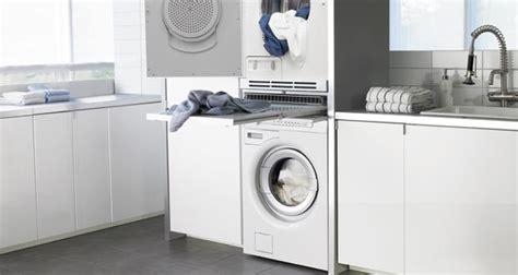 amenagement meuble de cuisine intégrer un lave linge dans la salle de bains