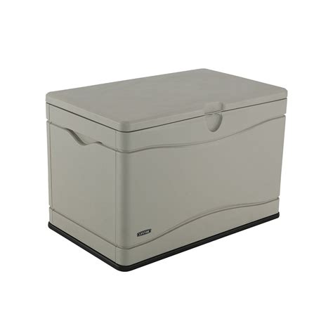 lifetime lifetime outdoor storage box 10 69 cu ft the