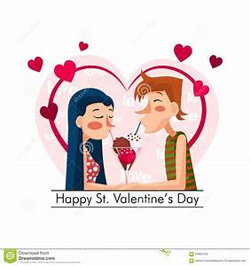 Happy St. Valentines Day stock vector. Illustration of ...