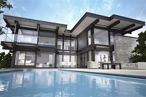Creation Maison 3d : cr ation de perpesctives 3d ext rieure le rendu d ~ Premium-room.com Idées de Décoration