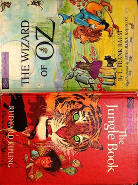 jungle book  wizard  oz  rudyard kipling
