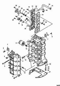 mercury marine 115 hp efi 4 stroke cylinder block parts With diagram further mercury 115 hp 4 stroke parts diagram moreover mercury