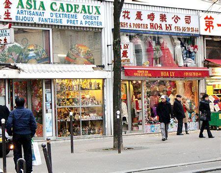 Cyclo Le Quartier Chinois Avenue De Choisy Quartier Chinois 13ème Arrondissement Routard Com