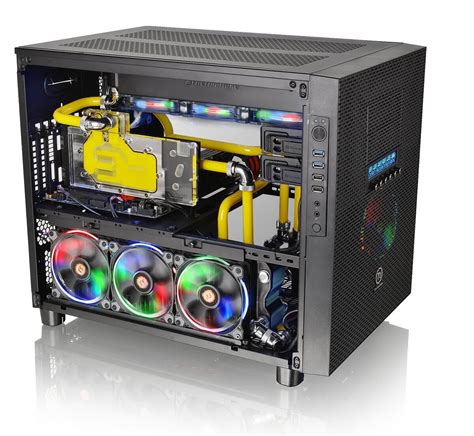 best pc case lighting the 12 best glass pc cases for your custom builds