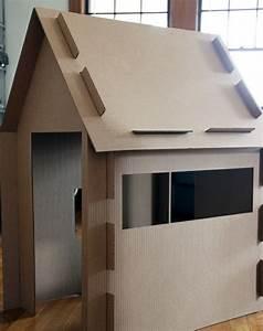 Cabane En Carton À Colorier : comment fabriquer une cabane en carton tuto et plusieurs mod les ~ Melissatoandfro.com Idées de Décoration