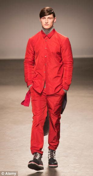 Red menu0026#39;s trousers The scarlet trousers that have been ...