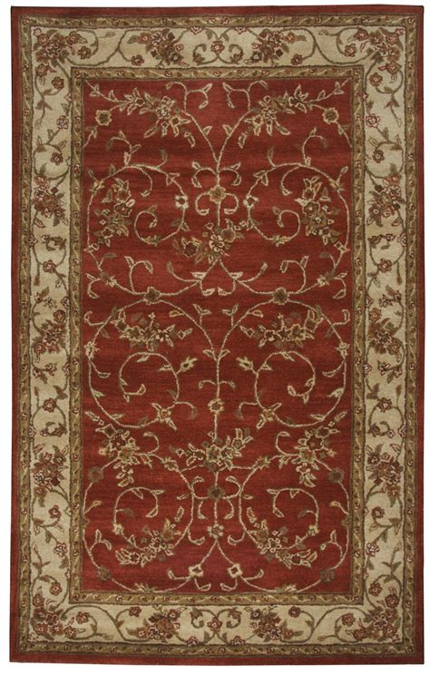 Wool Rugs by Craft Traditional Tufted Wool Area Rug In Ivory