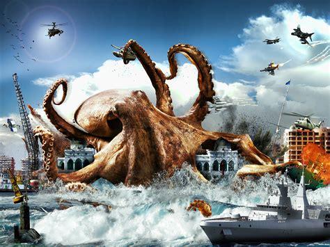 Monster Octopus on Behance