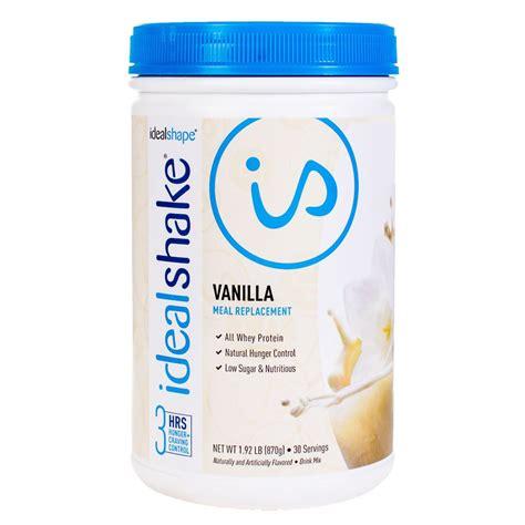 Amazon.com : IdealShake, Meal Replacement Shake, Mocha, w
