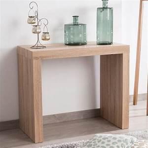 Console A Rallonge : table console en bois extensible avec rallonges extend deco pinterest rallonges ~ Teatrodelosmanantiales.com Idées de Décoration