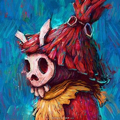 Kid Skull Ocarina Zelda Legend Mask Gifs