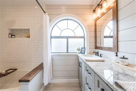 custom bathroom vanity cabinets modern farmhouse bathroom before after irwin construction
