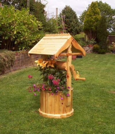 wishing  planter plans  diy garden furniture