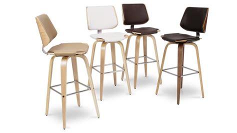 chaise de bar 4 pieds tabouret de bar design hambourg mobilier moss
