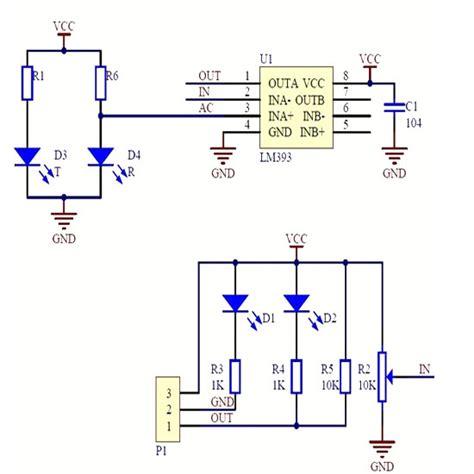 Infrared Obstacle Avoidance Sensor Module For Arduinos