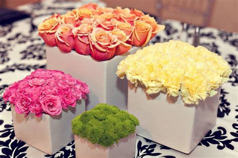 wedding flowers 4 centerpieces for your bridal shower