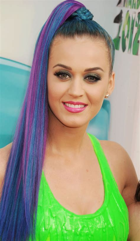 An Ode To Katy Perrys Technicolor Hairstyles