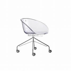 Chaise à Roulettes : chaise design a roulette gliss et chaises design pedrali chaises bureau roulette ~ Teatrodelosmanantiales.com Idées de Décoration