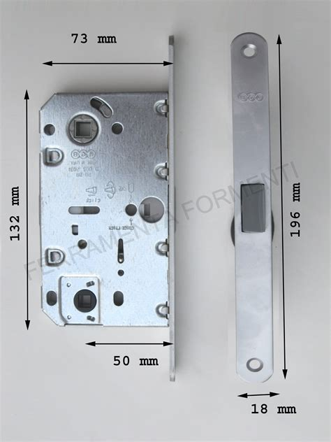 serratura magnetica per porta AGB MEDIANA POLARIS ORO