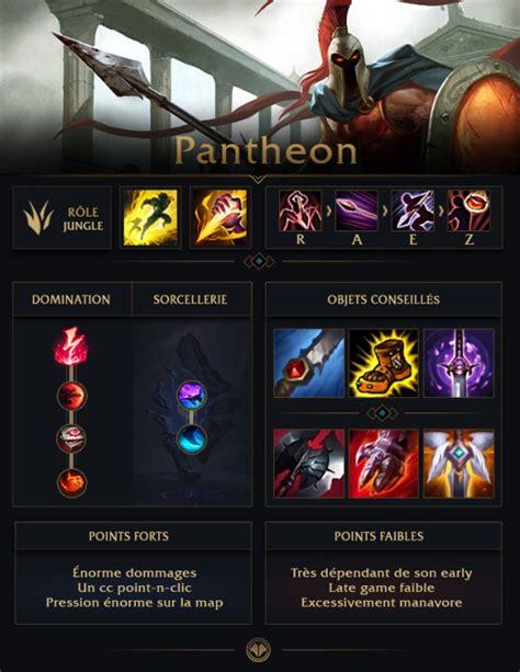 guide lol pantheon jungle  millenium