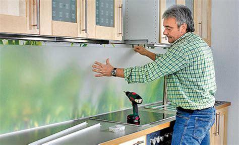 Küchen Fliesenspiegel Verkleiden by Do It Yourself K 252 Chenr 252 Ckwand Genuss Fee
