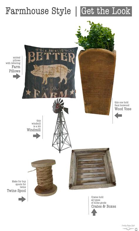 Get Look Farmhouse Style by Get The Farmhouse Style Country Design Style