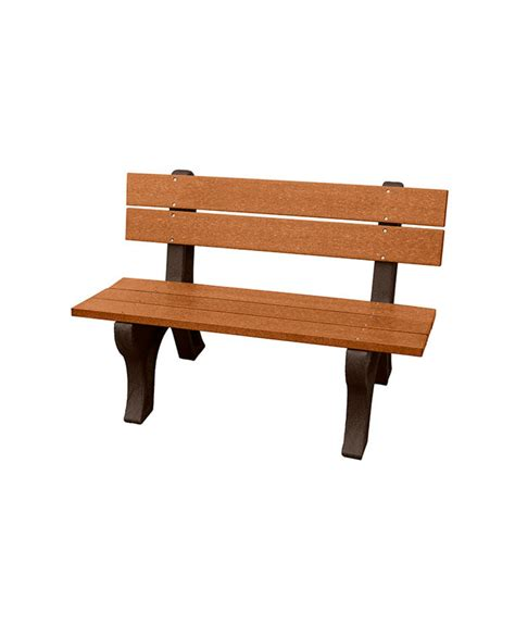 Traditional Benches by Economizer Traditional Bench With Back Recycled