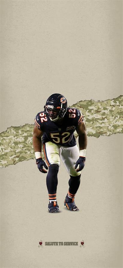 Bears Mack Khalil Iphone Chicago Wallpapers Nfl