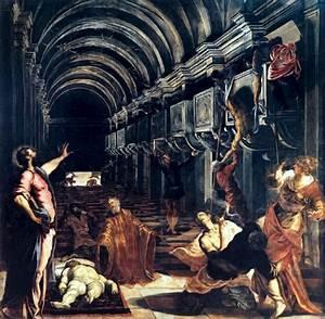 La Découverte du corps de Saint Marc, par Le Tintoret ...