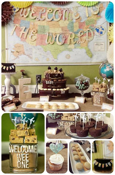 Baby Shower Theme For by Our Welcome To The World Baby Shower Baby Shower Baby